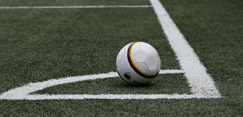Back At Football Training